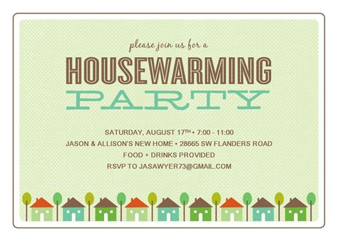 house warming invitation template best template collection