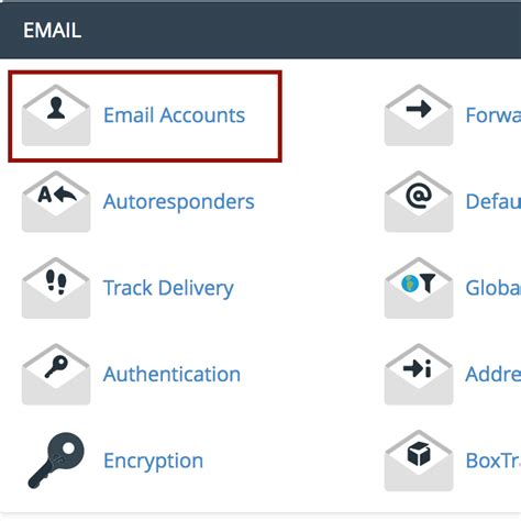 Search For Accounts By Email How To Setup New Email Accounts In Cpanel Peakplex