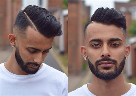 where to get combover fade in cin pompadour fade haircuts