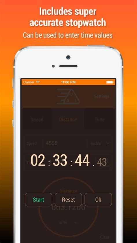 app shopper speed distance time calculator education