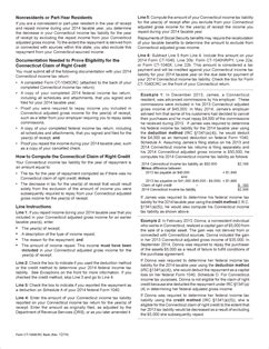 Form Ct 1040crc Fillable Claim Of Right Credit