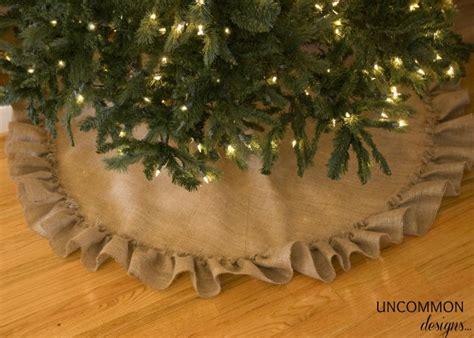 no sew tree skirt tutorial uncommon designs