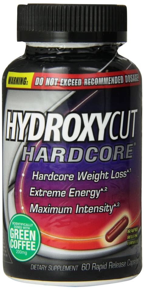Suplemen Hydroxycut Hydroxycut Weight Loss Supplement 60 Rapid