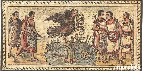 imagenes de aztecas o mexicas 191 vieron los mexicas al 225 guila parada sobre el nopal