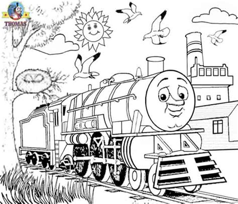 August 2009 Train Thomas The Tank Engine Friends Free Online Games And Toys For Kids The Tank Engine Colouring Pictures To Print