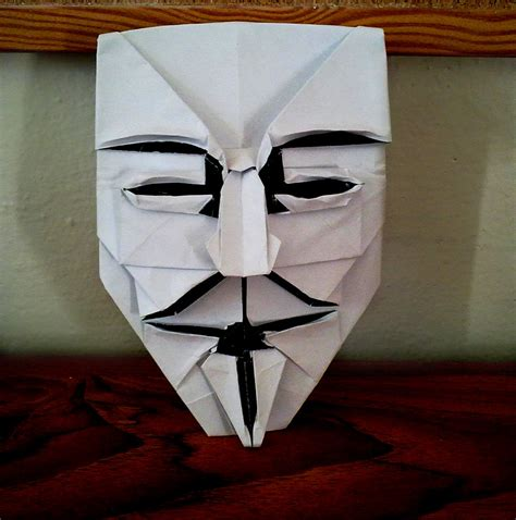 Fawkes Mask Origami - fawkes mask by yarin108 on deviantart