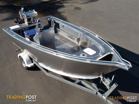 side console boats new heavy duty plate aluminium boat 5 2 metre side console