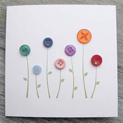 materials required for greeting cards oo konijn sneeuw flower greeting card and handmade