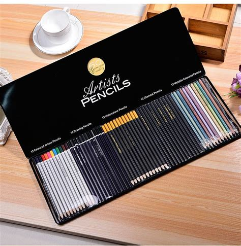 colored charcoal pencils best professional wooden colored artists pencils drawing