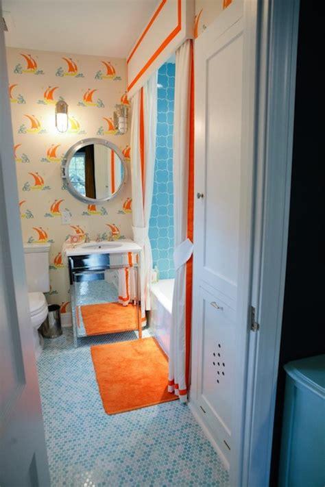 blue and orange bathroom orange and blue retro bathroom provincial archives of
