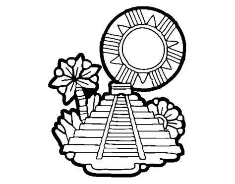 imagenes mayas para dibujar templo maya para dibujar imagui