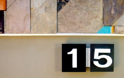 eichler numbers mid century modern house numbers mid century modern