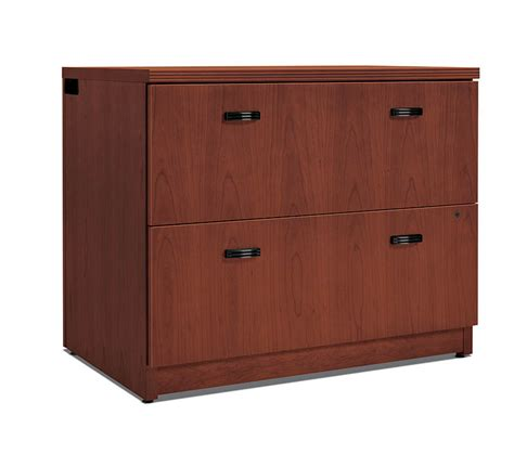 Lateral File Cabinet 2 Drawer Hon Park Avenue Collection Two Drawer Lateral File Cabinet