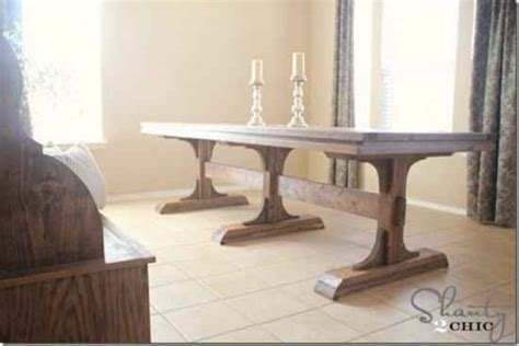 diy dining room tables 18 diy outdoor dining room tables