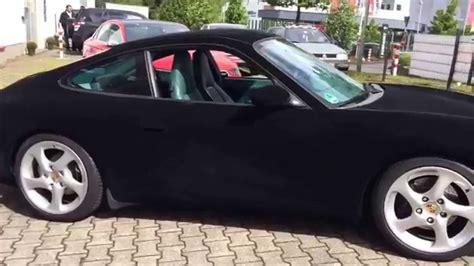 porsche velvet porsche 911 fullcarwrap with velvet black