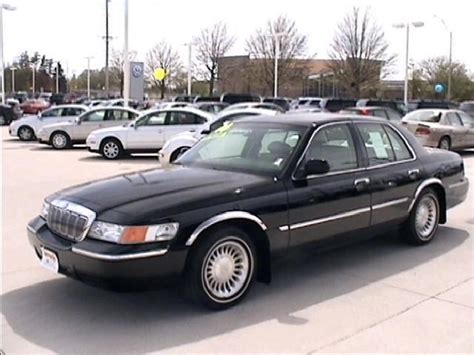 how things work cars 2000 mercury grand marquis lane departure warning 2000 used mercury grand marquis ls at witham auto center serving cedar falls ia iid 1723447
