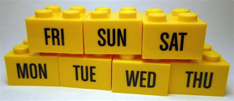 days of the week pictures images photos