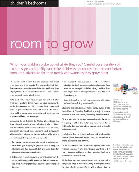 Room To Grow by Room To Grow Habitat Magazine Published By Resene Paints