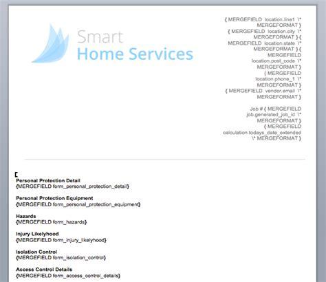 Forms Overview Servicem8 Help Servicem8 Form Templates