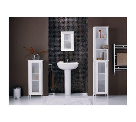 Hygena Bathroom Furniture Buy Hygena Frosted Insert Cabinet White At Argos Co Uk Your Shop For Bathroom