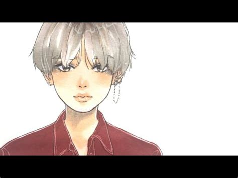 V Anime Drawing by Bts V Dna Drawing Tutorial 彡