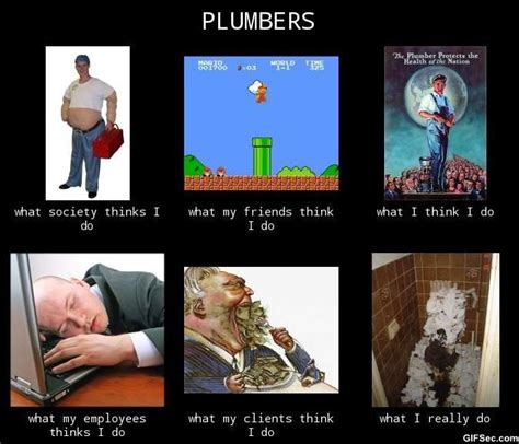 Plumbing Joke by Quotes About Plumbers Quotesgram