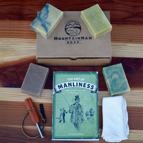 rugged gifts rugged gift pack free shipping mountain soap