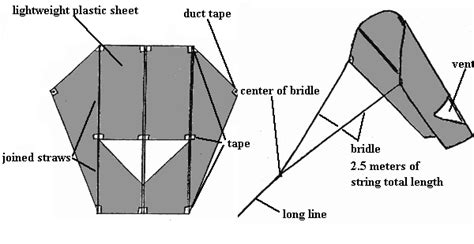 How To Make A Simple Kite Out Of Paper - build a kite