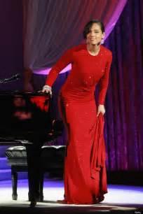 Michael Kors Salma Semiori gown singer stuns in michael kors design