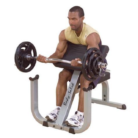 body solid preacher curl bench body solid heavy duty preacher curl bench