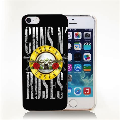 Guns N Roses Iphone Semua Hp 1 handle guns n roses transparent cover for iphone 4 4s 5 5s 5c 6 6s protect phone