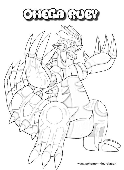 pokemon coloring pages primal groudon primal groudon coloring page by jpijl on deviantart