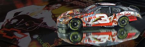 Special Diecast Nascar Chevy Rock N Roll Program Car 2004 Monte Carlo dale earnhardt sr elvis tribute 1 24