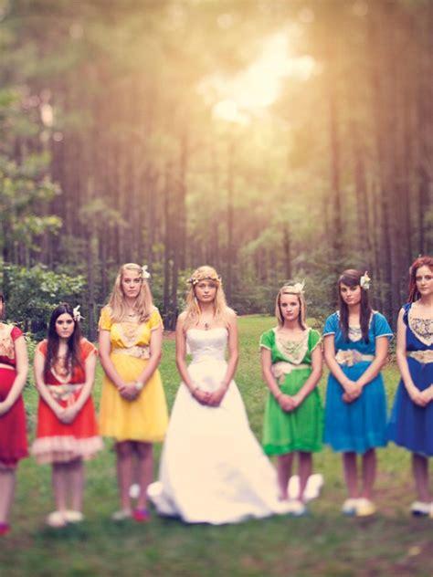 rainbow bridalguide