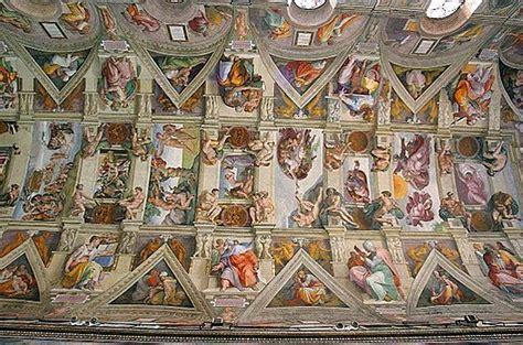 Ceiling Of The Sistine Chapel By Michelangelo by Plafond De La Chapelle Sixtine Wikip 233 Dia