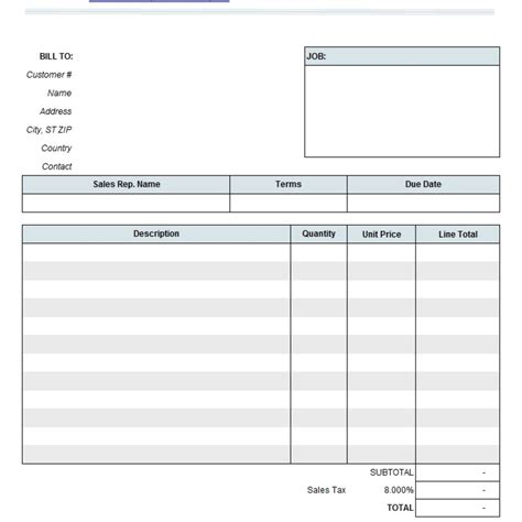 auto templates free auto repair invoice template excel 4 popular