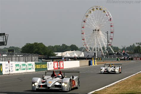 Wheel of fortune Chassis: 102 Entrant: Audi Sport Team Joest 2006 24 Hours of Le Mans