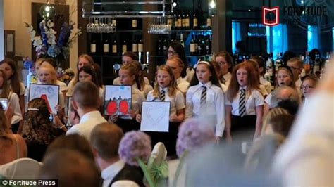 wedding song from school primary school his to tears on their