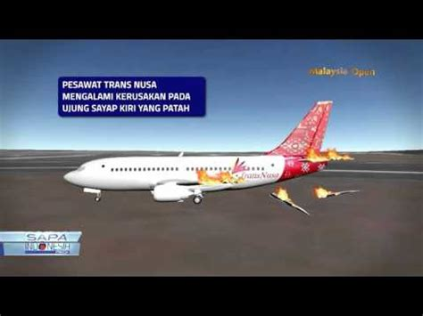 batik air vs transnusa kronologi singkat tabrakan batik air youtube