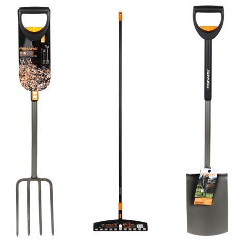 Rake Set fiskars garden rake garden spade and garden fork set