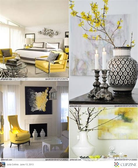 grey and yellow home decor grey black and yellow living room home design ideas fiona