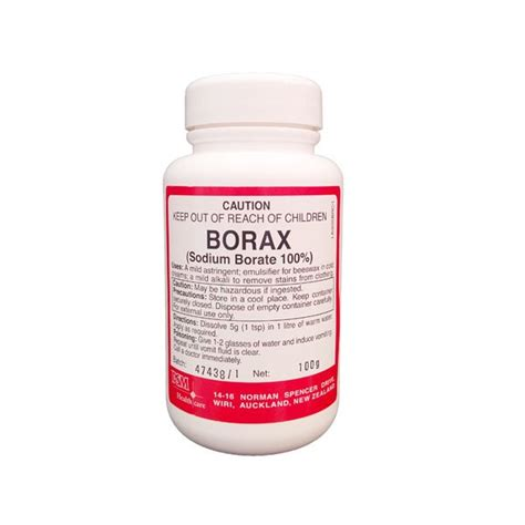 How Much Borax To Add To Foot Detox by Buy Borax Powder For Best Price In Nz At Home Pharmacy