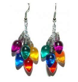 christmas light up earrings christmas decorating