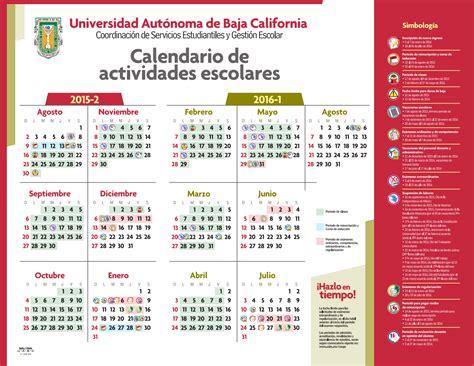 Calendario Escolar Uabc Calendario Artes Uabc