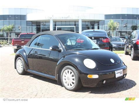 black volkswagen beetle 2004 black volkswagen beetle gls convertible 54851365