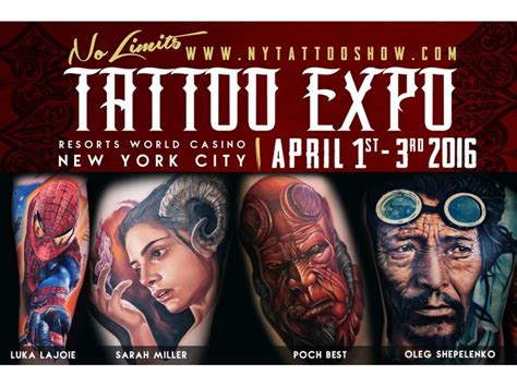 tattoo convention york 2016 united ink no limits tattoo expo 2016 at resorts world