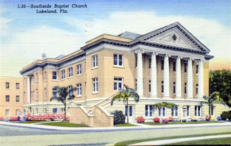 Lakeland Florida Records Florida Memory Southside Baptist Church Lakeland Florida