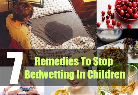 7 ways to stop bed in children home remedies for