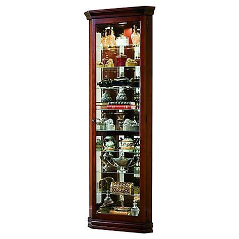 corner curio cabinet amazon pulaski victorian corner curio in victorian cherry bed