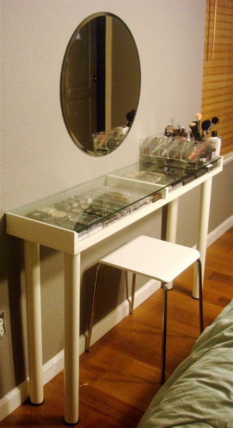 How To Build A Vanity Table by Makeup Table Plans Woodworking Projects Plans